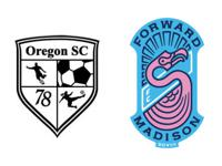 Oregon SC and Forward Madison FC