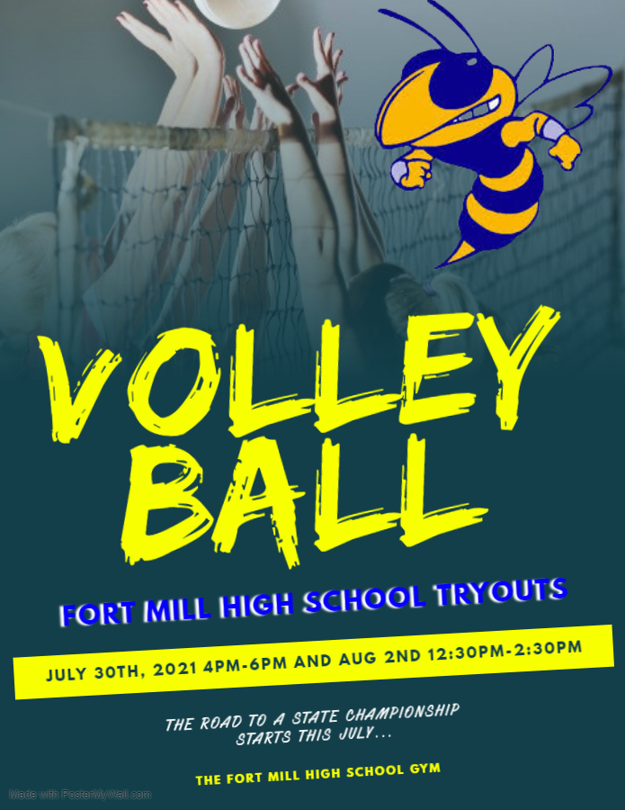 Fort Mill Volleyball Tryouts